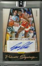 Dominique Wilkins 15/16 Panini Private Signings Autograph #4/10