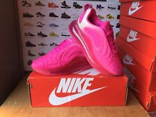"Women's Nike""AIR MAX 720""Trainers Size UK 4-EU 36.5 Laser Fuchsia USED ONCE"