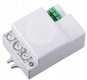 Mikrowellen Bewegungsmelder HF Sensor Radar LED Bewegungssensor Infrarot PIR 360