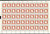 Bund 50er Bogen MiNr. 199 postfrisch MNH Formnummer 1 (BW7690