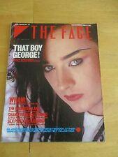1982 THE FACE MAGAZINE BOY GEORGE