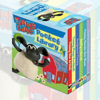 Timmy Time Pocket little Library (Timmy Steals the Show) 6 books Collection Set