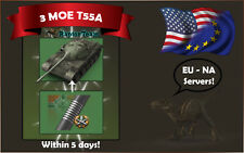 World of Tanks - 3 Marks of Excellence on T55A Within 5 Days!