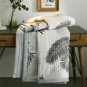 Summer Washed Cotton Blanket Quilt Air Conditioning Comforter Soft Breathable