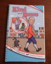 A Beka Reading, Kind and Brave, Student reader, 1.7, spiral bound, 2005