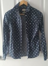 Ladies Jack Wills Blue Shirt, size 8