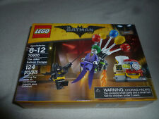 New In Box 70900 Lego The Joker Balloon Escape The Batman Movie Nib Set 124 Pcs