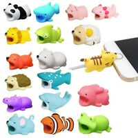 Silicone Cable Protectors Chompers Animal Bite Shaped For Cellphone Accessories