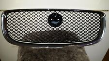 NEW Genuine Jaguar XJ Front Grille 2009-2014 Chrome Surround + Black Mesh