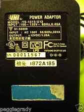 YHI YS-1015-U12 A/C Power Supply Adapter
