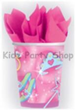 Princesse fête d'anniversaire - 8 tasses 9oz-livraison gratuite au royaume-uni