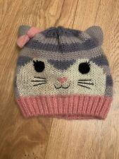 Mothercare CAT winter Bobble Hat 1-3 Years