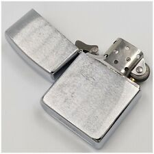 Briquet essence ZIPPO D-VII chrome brossé petrol Lighter-Feuerzeug-Accendino-打火机