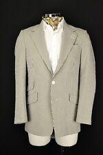 """38"""" Long Paul Smith Seersucker Cotton Summer Striped Jacket Blazer Westbourne"""