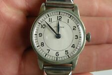 LONGINES Military 12L Cal. Hacking Seconds Stainless Steel Vintage Men's Watch