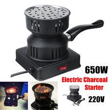 Electric Coal Hookah Starter Shisha Nargila Heater Stove BBQ Charcoal Burner AU
