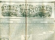 Newspaper Republican NY Presidential Convention Seward Kingston Canada  1860