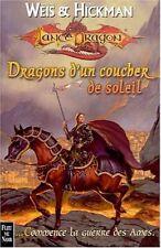 Lancedragon HS5.Dragons d'un coucher de soleil.Fantasy SF34