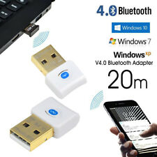 USB 4.0 Bluetooth Connector Dongle CSR4.0 Adapter for PC LAPTOP WIN 7 10 Uk