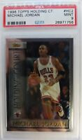 1996-97 Topps Holding Court Michael Jordan #HC2, Low pop, PSA 9 Mint