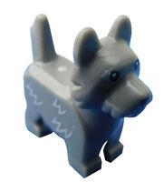 Lego Hund in dunkelgrau (dark bluish gray) Terrier Toto 26078pb002 Tier Neu