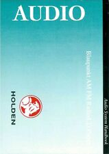 92096454 Genuine Holden Brand New Blaupunkt Audio Booklet VY Commodore