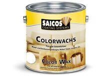 Saicos Colorwachs 3022 Kastanie 0,750L, transparenter Holzanstrich für Innen