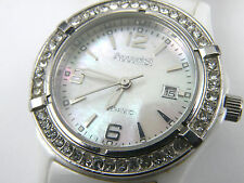 Ladies Accurist LB1651W Quartz Ceramic Dress Watch - 100m