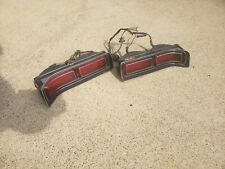 OEM VINTAGE 1972-1973 LINCOLN MARK IV COMPLETE TAIL LIGHT SET WITH WIRING