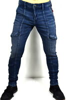 True Religion Brand Jeans $209 Men's Utility Relaxed Skinny Cargo Jeans - 100375