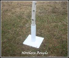 One White Birch Wedding Chuppah Stand