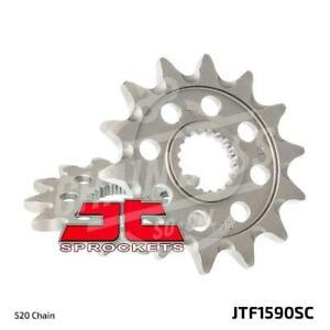 JT Sprockets 520 Front Sprocket Self Cleaning Steel 13T Natural JTF1590.13SC