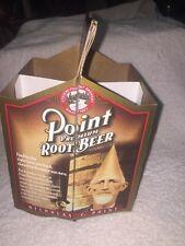Point Premium Root Beer Soda Pop Cone Head Cardboard Carton Holder Carrier