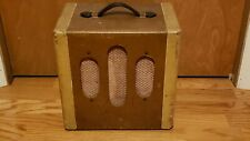 Kamico Tube Amp 6V6, 5Y3, 12AX7 like Fender Champ Kay Serviced Ship World Wide