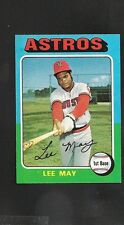 1975 Topps # 25 Lee May NM-MT