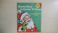 SANTA CLAUS IS COMIN' TO TOWN Golden Yellow Records  78rpm 50s