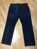 WORN LOOK  Mens Diesel LARKEE Stretch Denim 0860M DARK BLUE REGULAR W30 L27 H8