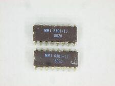 """MMI6301-1J  """"Original"""" Monolithic Memories  16P DIP IC  2  pcs"""