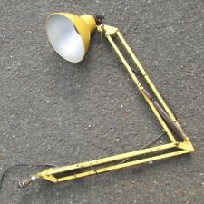 Anglepoise Vintage Industrial Machinists Lathe Lamp Light