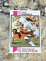 1973 Topps Paul Warfield #511 Cleveland Browns HOF NFL Football Card