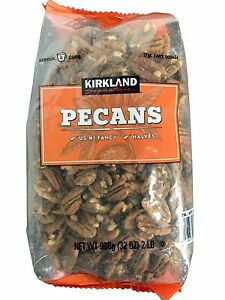 Kirkland Signature Pecan Halves U.S. #1 (Fancy Pecans 32 oz Pack)  2 LB