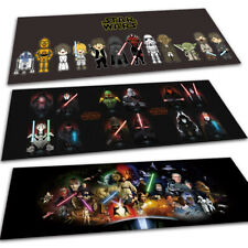 NEW Star Wars Cute Velboa Floor Rug Carpet Doormat Bedroom Kitchen Non-slip Mats