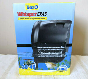 NEW Tetra Whisper EX 45 Filter Silent Multi-Stage Power Filter for 30-45 Gallons