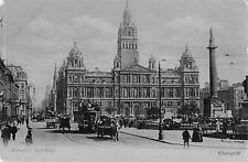 BR75397 municiapal buildings tramway tram chariot real photo  glasgow scotland