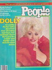 AUG 2 1982 PEOPLE magazine (UNREAD - NO LABEL) - DOLLY PARTON