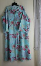 Natori -Sz L Exquisite Long Butterfly Chinese Imperial Asian Long Robe Gown