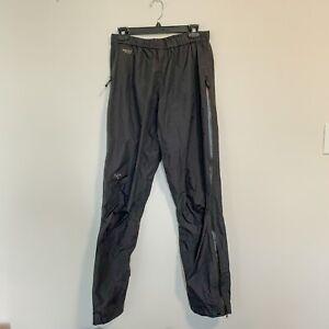 Arc'teryx Men's Full Zip Goretex Pants Black Medium