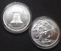 Sons of Liberty 1 oz Silver Round Musket Gun COA Only 500 Minted Free Capsule