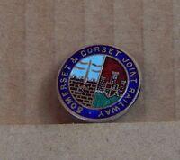 Somerset & Dorset joint Railways Enamel Badge