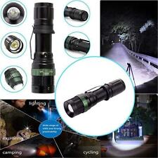 New 10000Lumen Zoomable XM-L T6 LED 18650 Flashlight Tactical Torch Lamp Light
